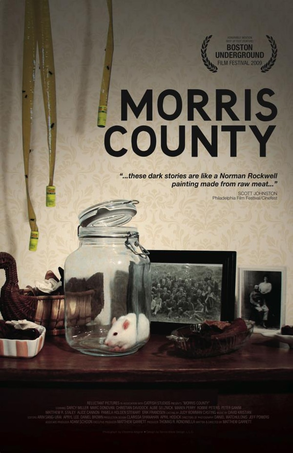 Take a Trip to Matthew Garrett's Morris County in March