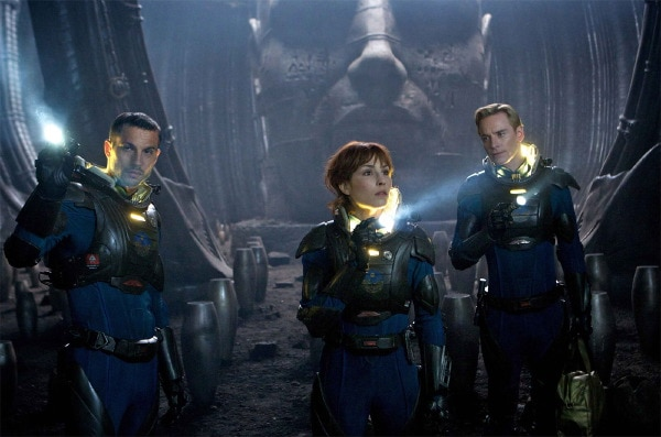 Noomi Rapace Sheds Some Light on her Prometheus Character