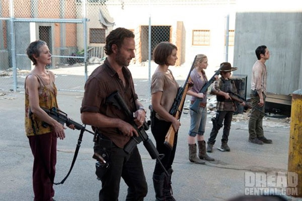 The Walking Dead Recap of Episode 3.11 - I Ain't a Judas - Rick and group greets Andrea