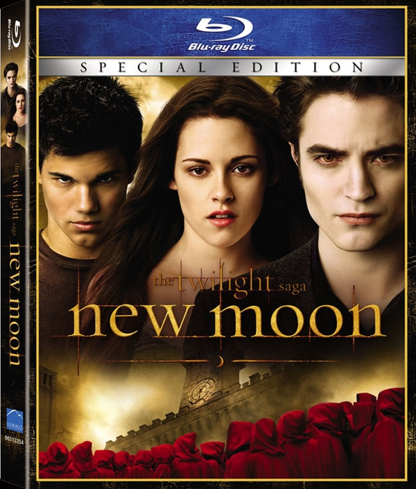 Twilight Saga: New Moon Blu-ray/DVD Release Date and Details - PRE-ORDERS NOW AVAILABLE
