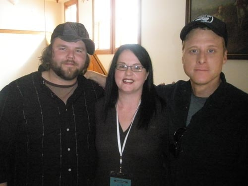 Tyler Labine, Heather Wixson, Alan Tudyk