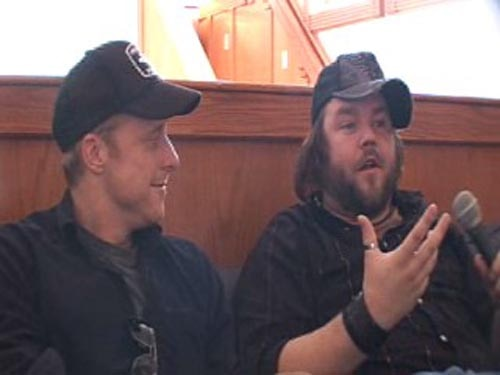 Alan Tudyk and Tyler Labine