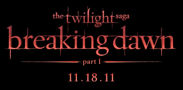 The Twilight Saga: Breaking Dawn Title Treatment