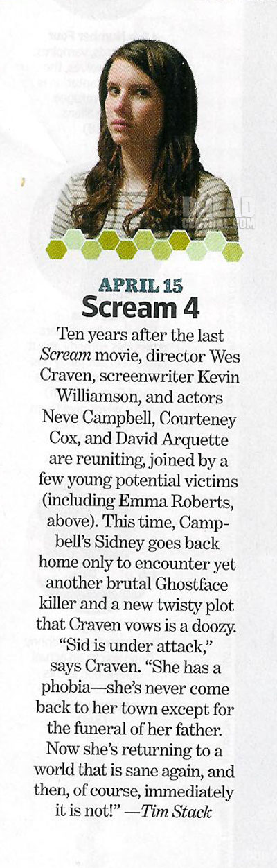 Scream 4: Why Sidney Heads Back to Woodsboro