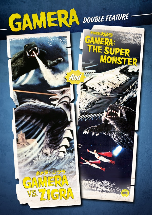 The Final Two Films in the Original Gamera Franchise Stomp their Way to DVD