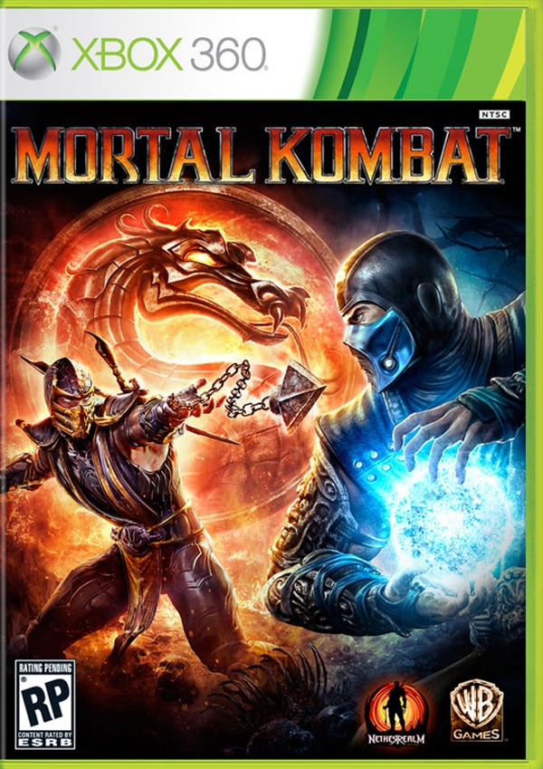 Mortal Kombat - Rain Drenches the Competition in Blood