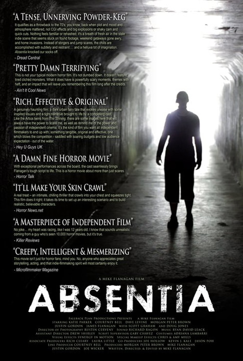 New Absentia One-Sheet Met with Rave Reviews