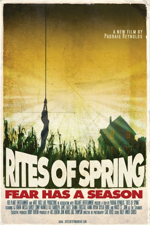 Exclusive Interview: Writer/Director Padraig Reynolds Talks Rites of Spring, His Trilogy Plans and More