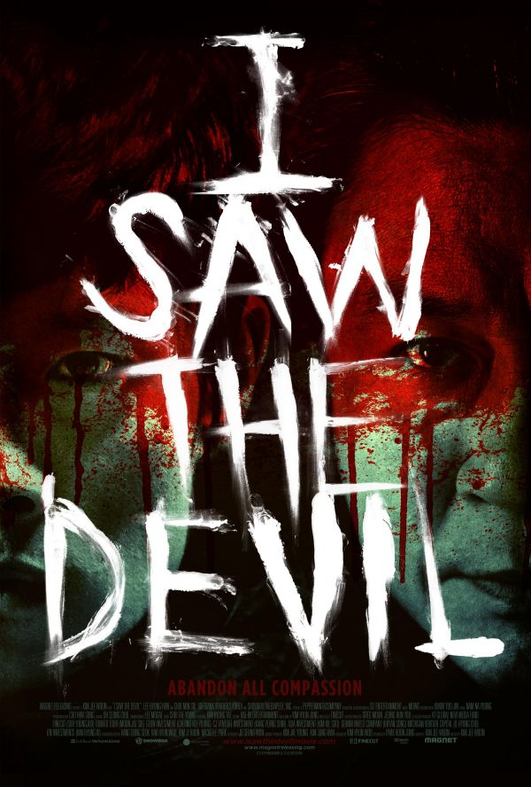 Sundance 2011 - I Saw the Devil Poster Has Some Red on It!