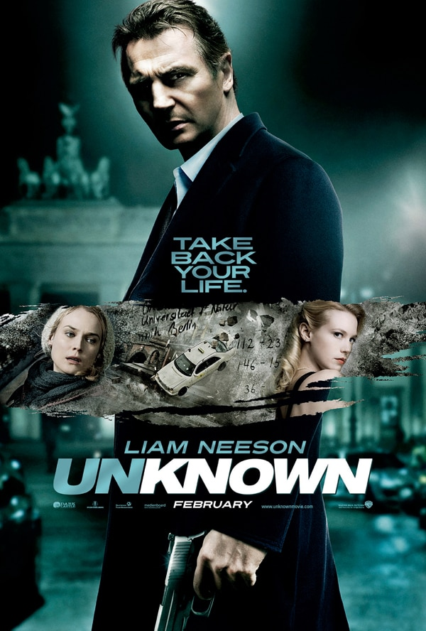 Latest Unknown One-Sheet Features a Whole Lot of Neeson