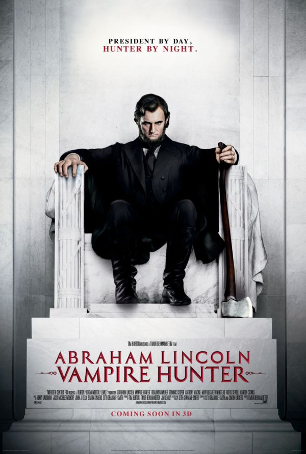 Red-Band Trailer for Abraham Lincoln: Vampire Hunter Hits with a Splat!