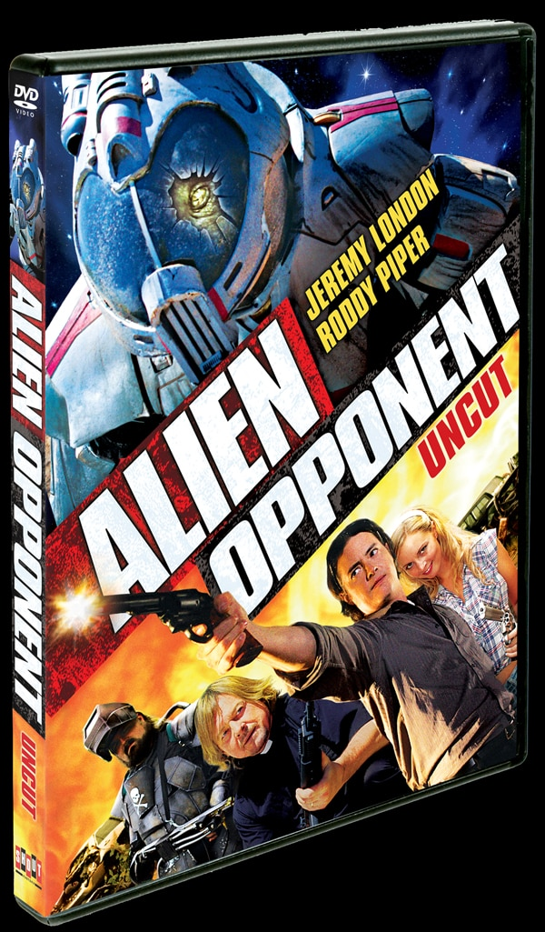 An Alien Opponent Lands on DVD