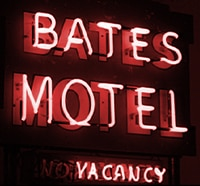 A Director Registers at A&E's Bates Motel