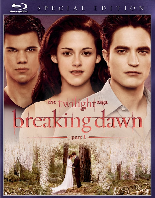 The Twilight Saga: Breaking Dawn - Part 1 Hitting Home Video February 11th!