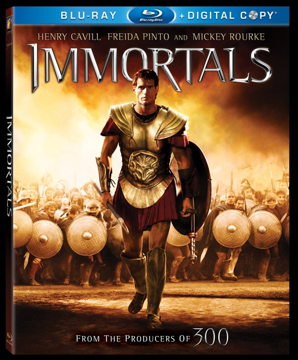 Immortals Bludgeons its Way to Home Video
