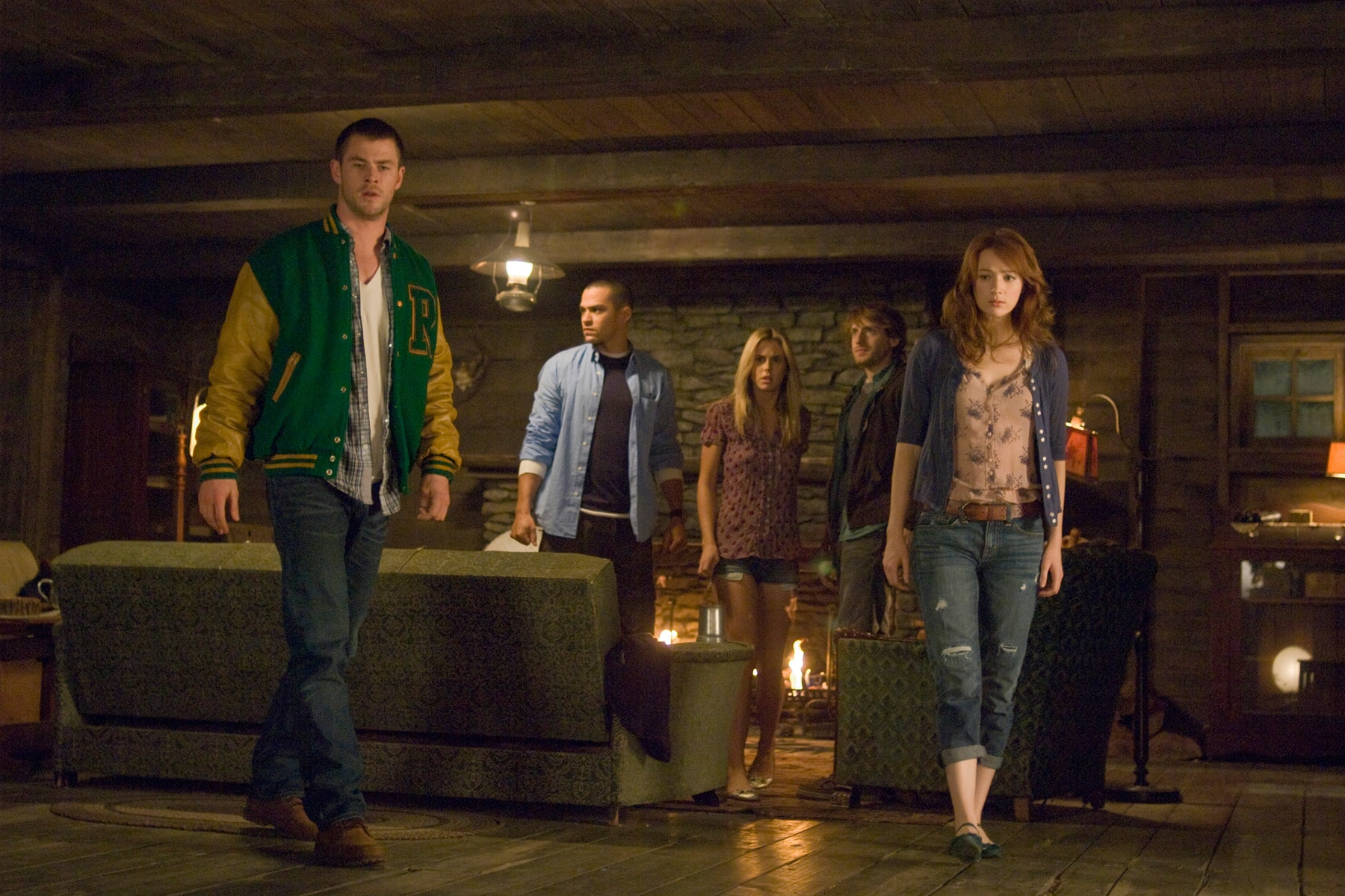 SXSW 2012: Lionsgate's The Cabin in the Woods to Premiere; First Still Released (click for larger image)