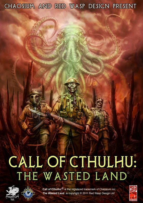 Heads-Up Lovecraft Fans! New Game - Call of Cthulhu: The Wasted Land Released Today