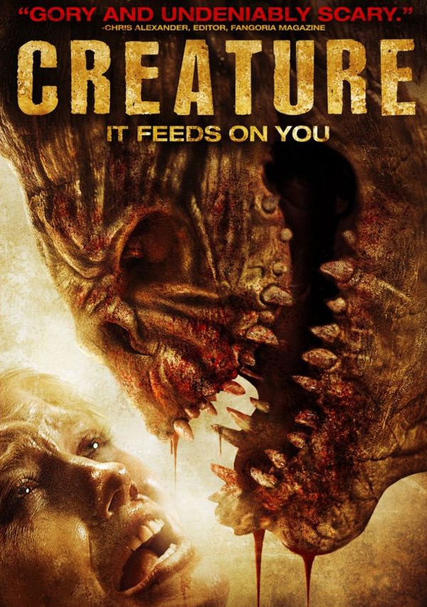 Toothy New Creature DVD Art