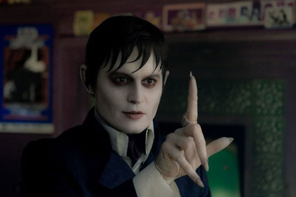 Johnny Depp Vamps it Up in Latest Dark Shadows Image