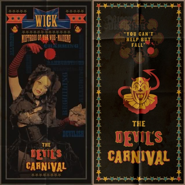 New Artwork and Casting News: The Devil's Carnival