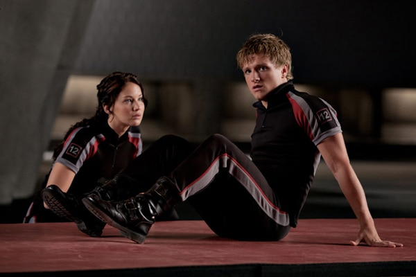 In Training with Another Still From The Hunger Games