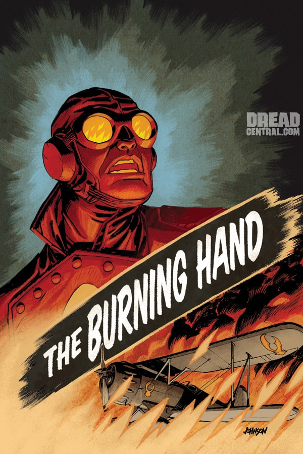 Exclusive Sneak Peek of Cover Artwork for Lobster Johnson: The Burning Hand #4