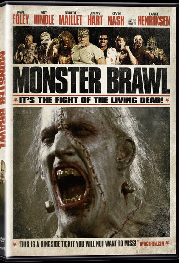 Monster Brawl Home Video Artwork Ready to Rumble