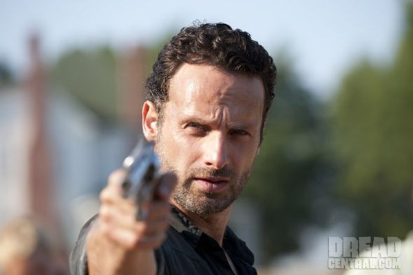 A Pair of New Walking Dead Images Take Aim; Shane's a Goner?