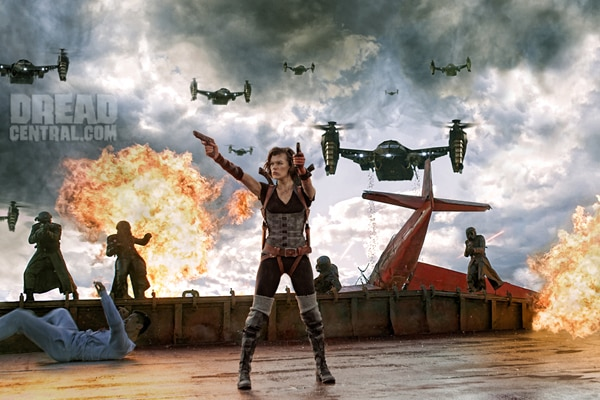First Official Still from Resident Evil: Retribution (click for larger image)