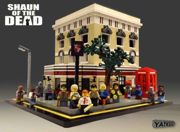 Help Make the Shaun of the Dead Legos Diorama Legit