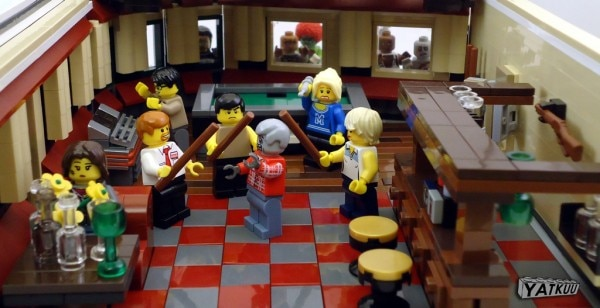 It's Not Every Day You See Shaun of the Dead Recreated In Legos
