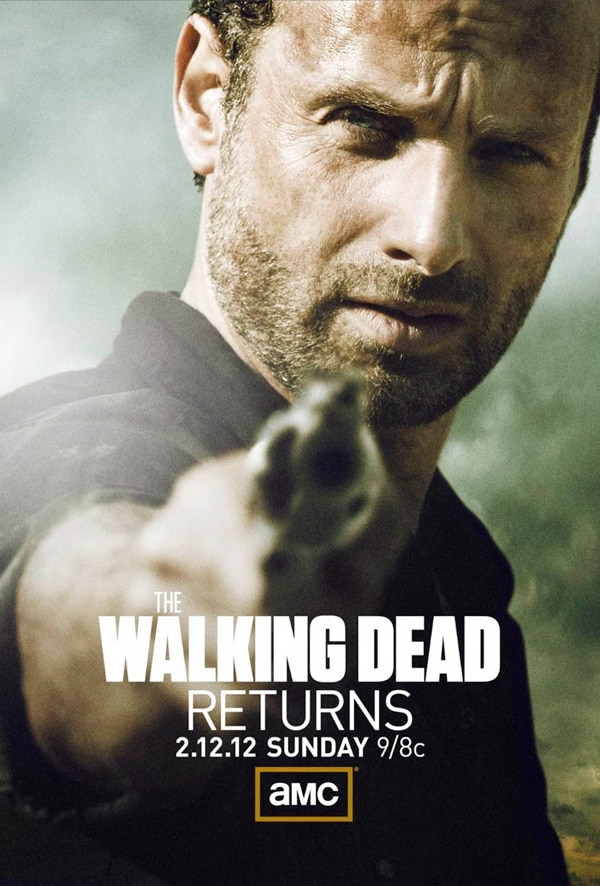 Stare Down Rick Grimes in The Walking Dead Midseason Premiere Poster