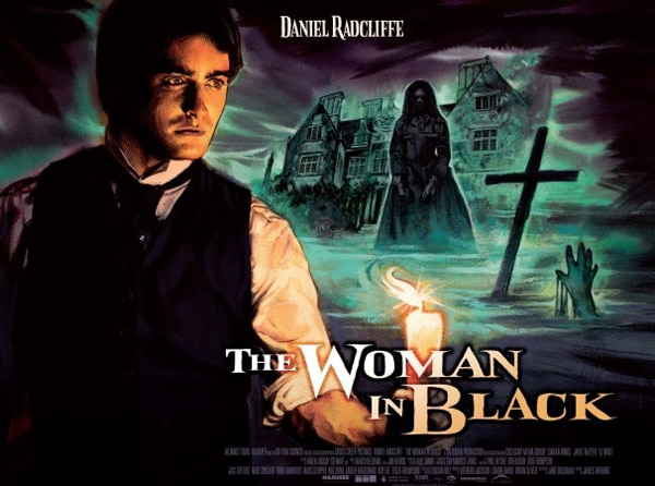 The Woman in Black Vintage Artwork