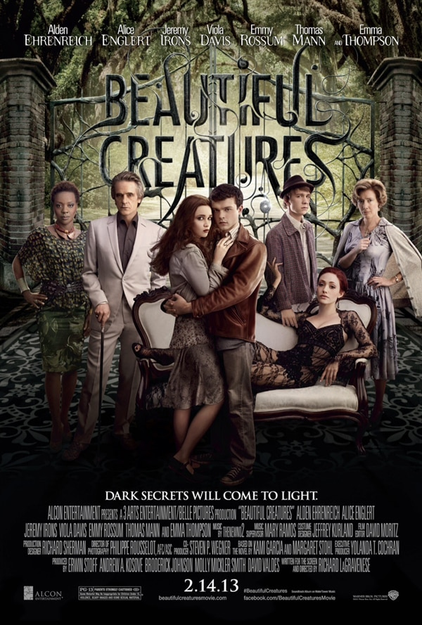 Beautiful Creatures Shows Off its Pedigree and Brings Three New TV Spots