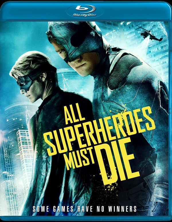 All Superheroes Must Die on DVD and Blu-ray