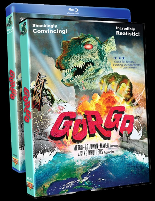 Lookout, London! Gorgo is Marching to Blu-ray