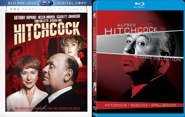Artwork and Specs for Both Hitchcock and Alfred Hitchcock: The Classic Collection on Blu-ray