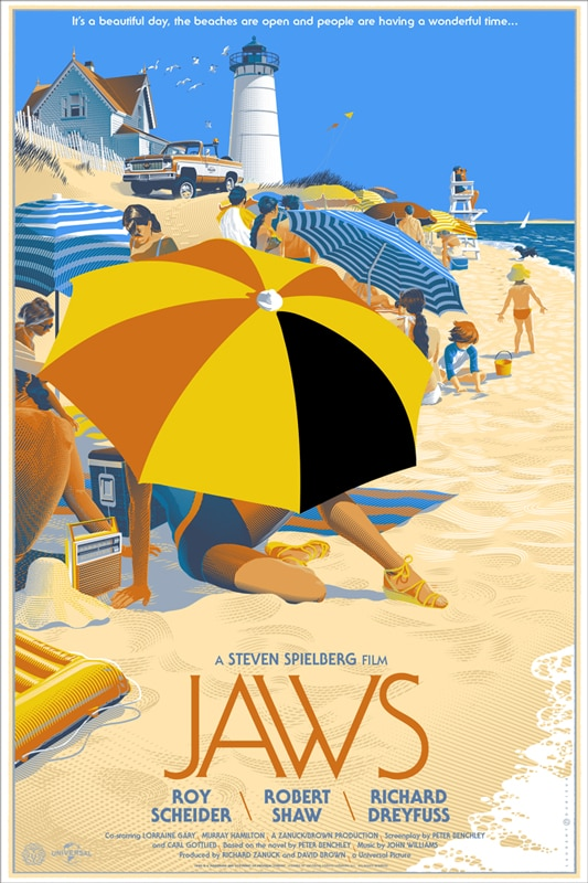 Mondo Hits the Beach with JAWS