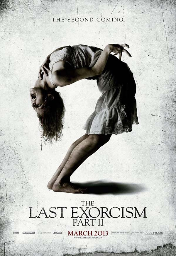 Bend Over Backwards to See the New One-Sheet for The Last Exorcism Part II