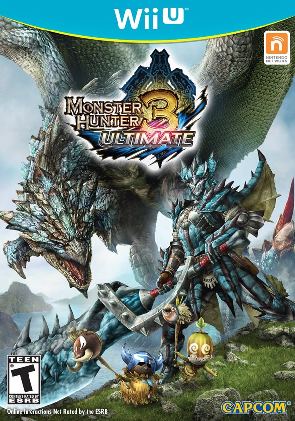 Monster Hunter 3 Ultimate Demo Hits Wii U and 3DS