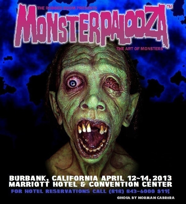 Attentions Creeps and Creatures: Monsterpalooza Scheduled for April 12-14