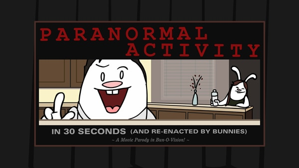 30-Second Bunnies Theatre, Paranormal Activity, FEARnet to Premiere Over 30 Short Films During 2013