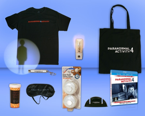 Win a Paranormal Activity 4 Prize Package