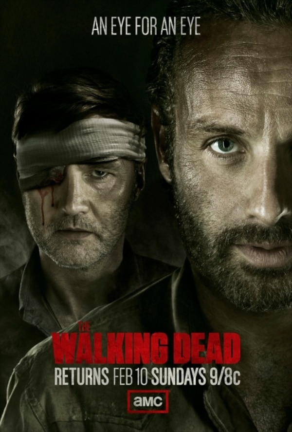 Get Blinded by New The Walking Dead Poster; More on Glen Mazzara's Exit