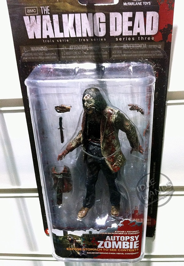 UK Toy Fair 2013: McFarlane's Walking Dead Series 3 Images Shamble Forth