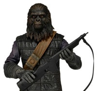 NECA Shows Off 8-Bit Predator and First in its Line of Classic Planet of the Apes Figures
