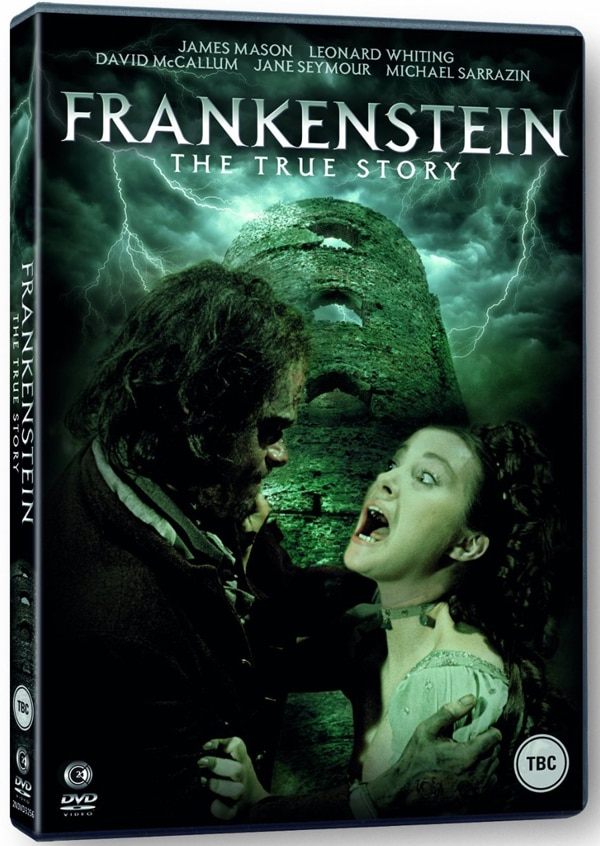 1973 TV Movie Frankenstein: The True Story Finally Arriving on UK DVD