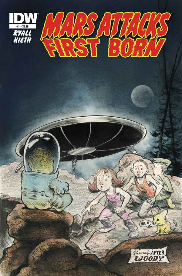 New Four-Issue Mars Attacks: First Born Series Launches in May