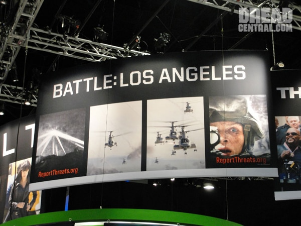 San Diego Comic-Con 2010: Early Art - Battle: Los Angeles (click for larger image)