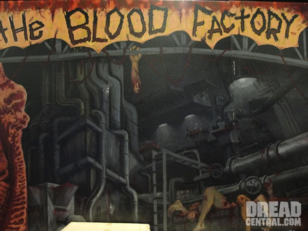 San Diego Comic-Con 2010: Inside Danny DeVito's Blood Factory (click for larger image)